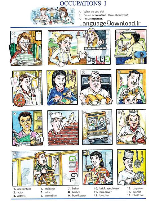 آموزش لغات انگلیسی word by word-picture dictionary