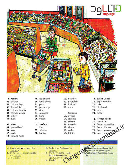 مجموعه آموزش لغات word by word-picture dictionary