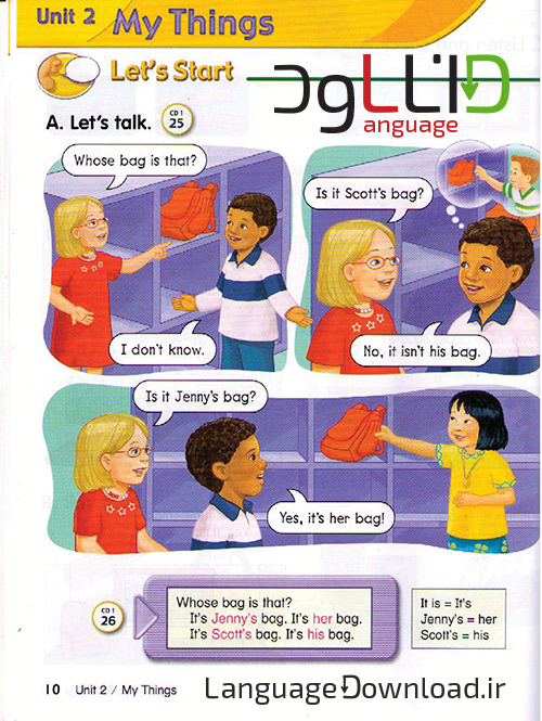 کتاب های آموزشی زبان انگلیسی Lets Go