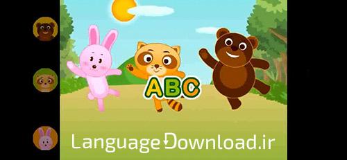 آموزش الفبا و زبان انگلیسی Muffin Songs ویژه خردسالان