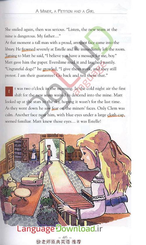 کتاب داستان انگلیسی سطح 5