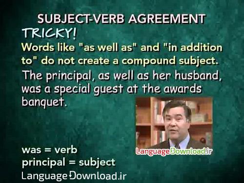 آموزش گرامر زبان انگلیسی همراه با لهجه امریکن