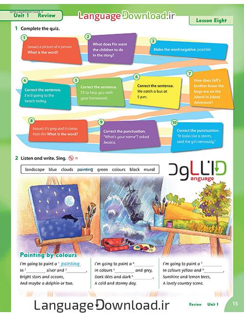 آموزش گرامر زبان انگلیسی برای کودکان