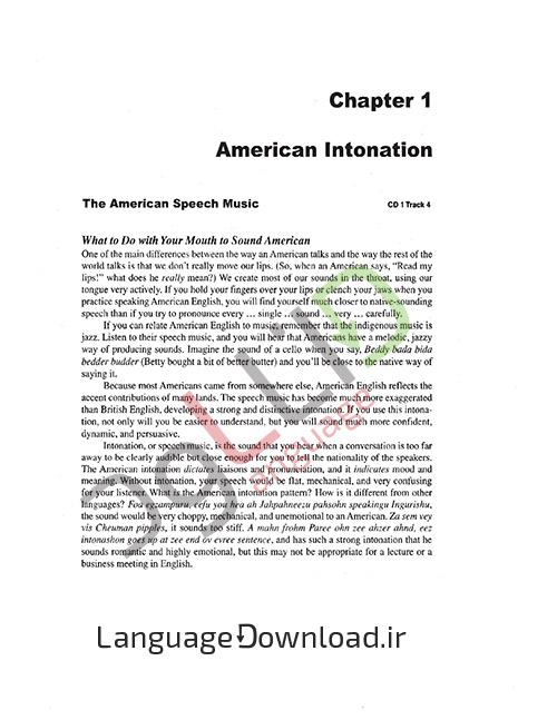 آموزش طرز تلفظ و لهجه از ابتدا