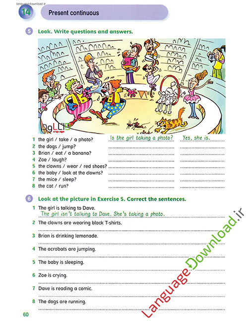 آموزش گرامر انگلیسی به کودکان و نوچوانان