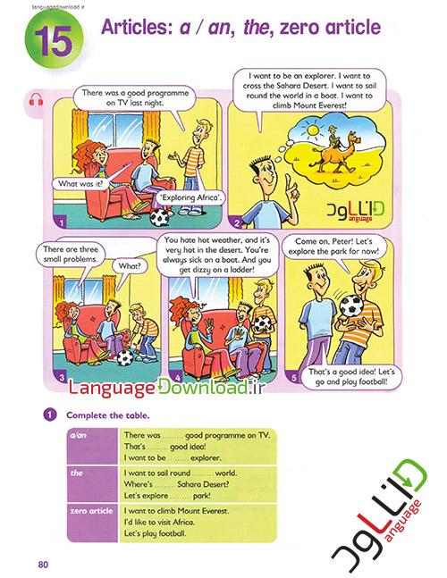 آموزش گرامر انگلیسی همراه با نرم افزار