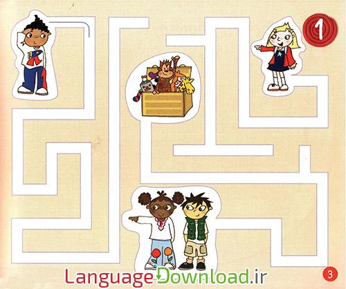 دانلود حروف الفبای انگلیسی به بچه ها