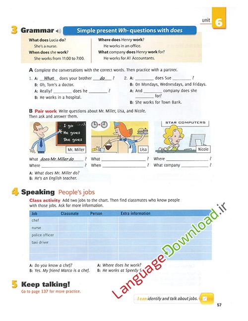 آموزش زبان انگلیسی همراه با لهجه امریکن