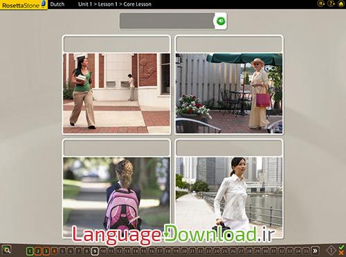 آموزش الفبای زبان هلندی همراه با رزتااستون