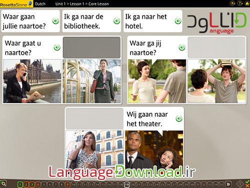تلفظ زبان هلندی