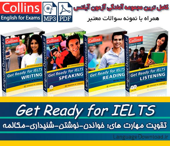 دانلود PDF رایگان مجموعه Get Ready for IELTS