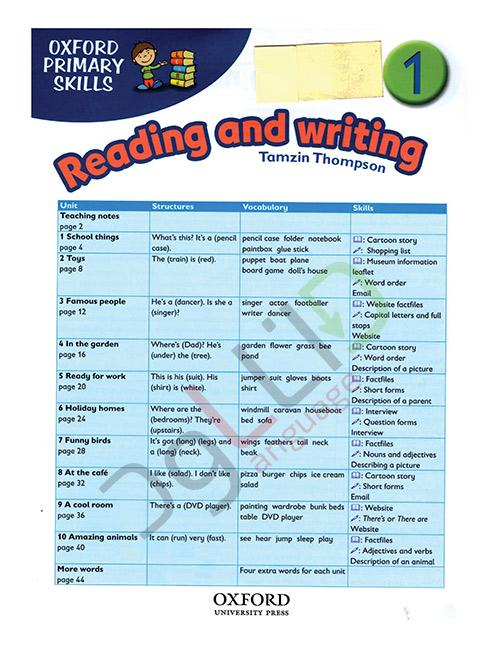 خواندن و نوشتن درک مفاهیم 1
