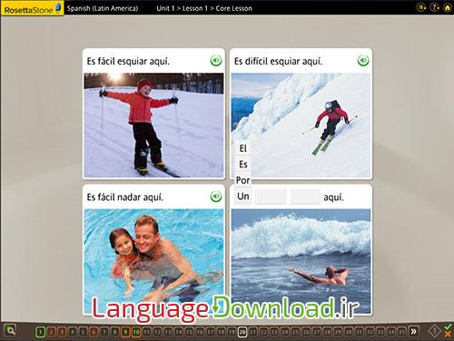 آموزش زبان اسپانیایی (آمریکای لاتین) به صورت خودآموز