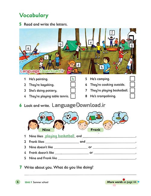 آموزش خواندن و نوشتن حروف و کلمات انگلیسی