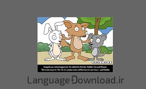 آموزش زبان انگلیسی همراه با داستان