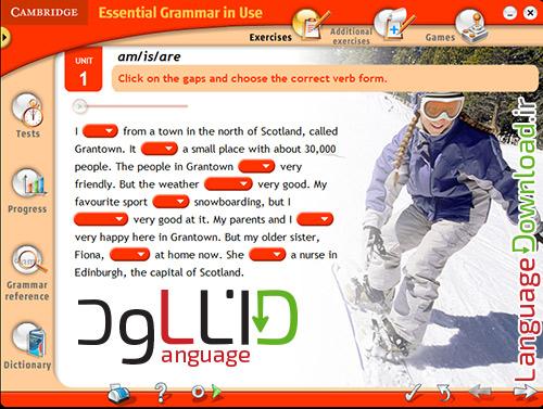 آموزش آسان گرامر انگلیسی
