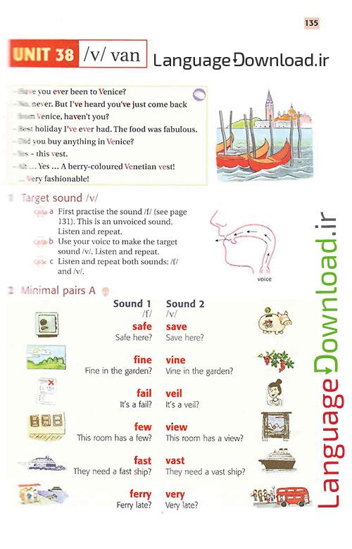 یادگیری تلفظ انگلیسی از اول