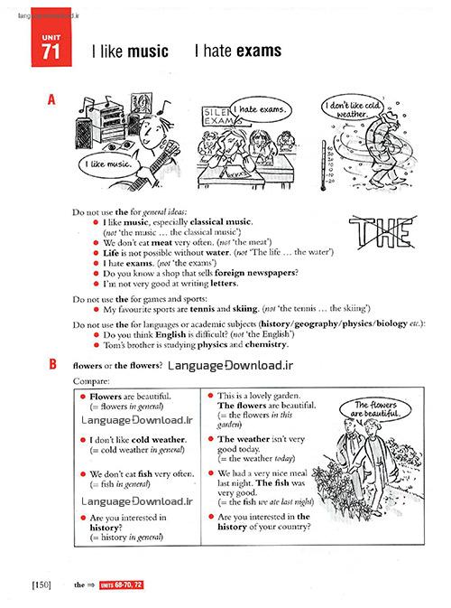 دانلود گرامر مقدماتی انگلیسی