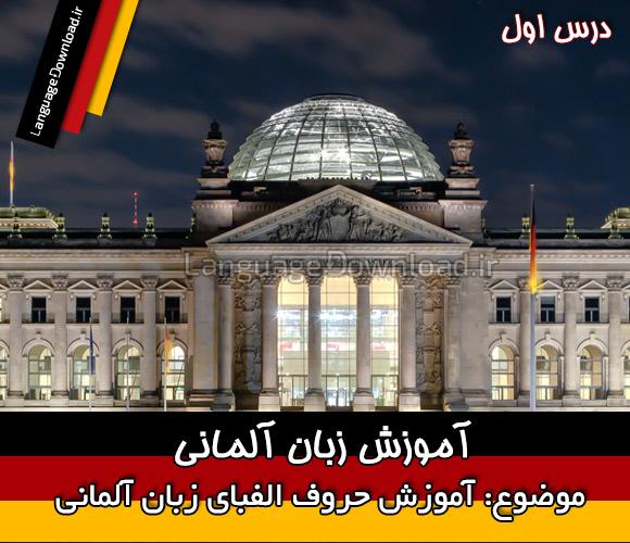 تلفظ صحیح حروف الفبای آلمانی